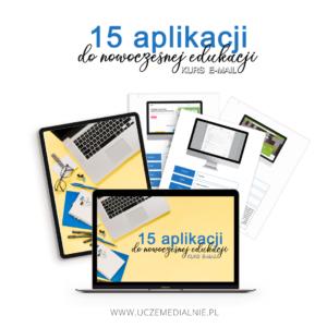 [KURS E-MAIL] 15 aplikacji do nowoczesnej edukacji