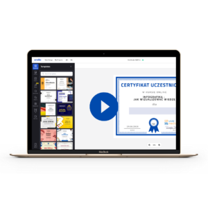 [Nagranie szkolenia] Zaprojektuj dyplom w Crello