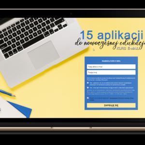 15 aplikacji do nowoczesnej edukacji [KURS E-MAIL]